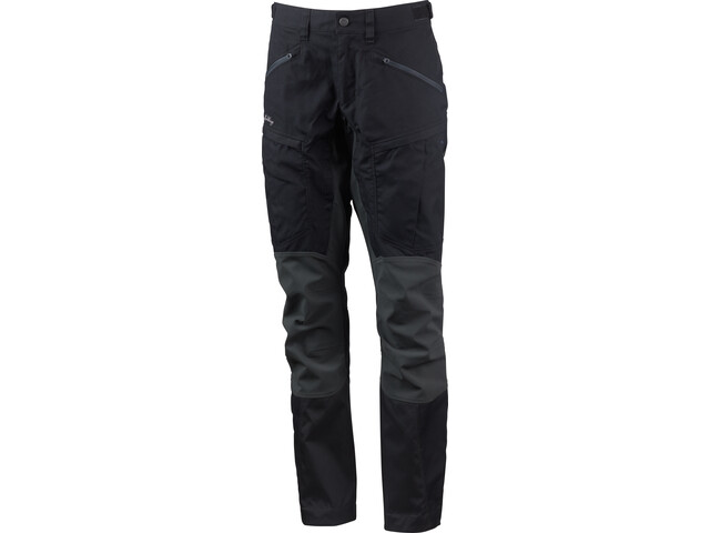 Lundhags Makke Pro Pantaloni Donna, black/charcoal